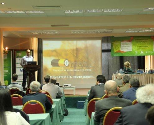 4та Меѓународна конференција на тема РЕГИОНАЛНО УПРАВУВАЊЕ СО ОТПАД во организација на АДКОМ и ЈП Комунална Хигиена- Скопје
