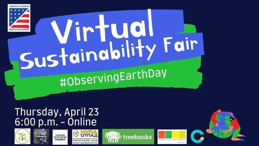 Виртуелен саем за одбележување на Денот на Планетата Земја